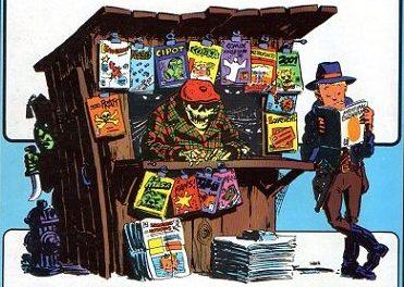 Aventuras Bizarras en el kiosco